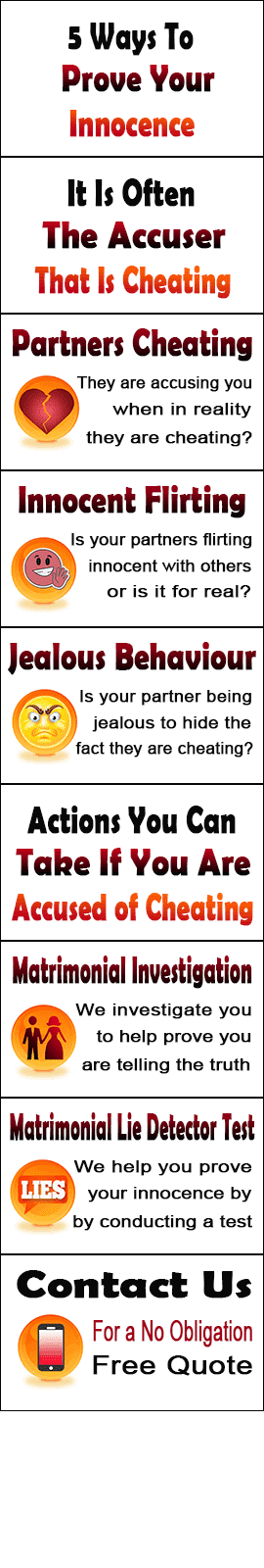 5 Ways To Show Your Innocence In Bexley When Accused Of Cheating